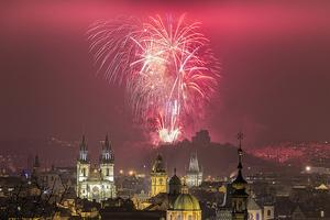Prague New Year and Christmas