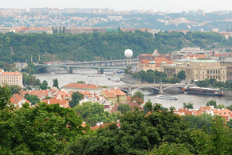 View from Petrin Hill (Creative Common 3.0 /Andrei Stroe)