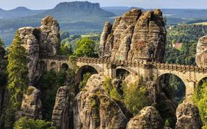 Thumbnail for Bohemian and Saxon Switzerland National Park Day Trip from Prague
