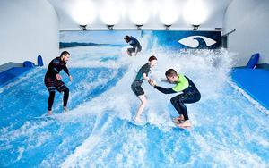 Thumbnail for Indoor Surfing - Fun Activity in Prague During Winter